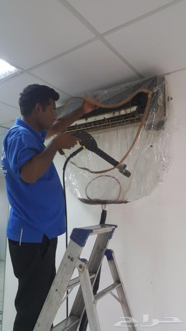 عرووض خدمات غسيل وصيانة المكيفات