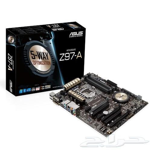 قطع PC معالج Intel - كرت شاشة GTX - رامات RAM