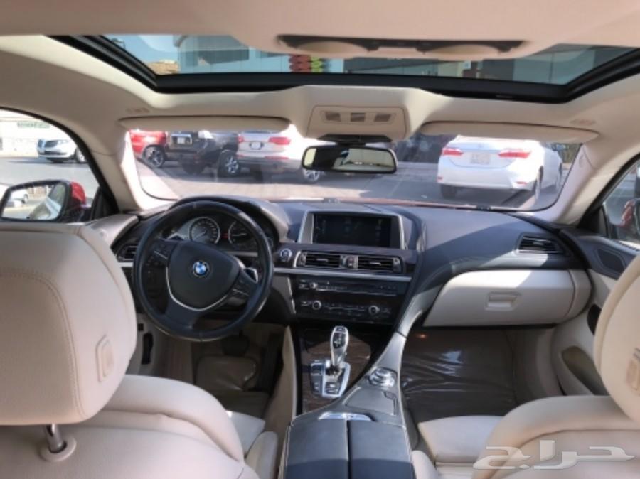 BMW 650i 2014 بي ام دبليو 650 الفئة السادسة