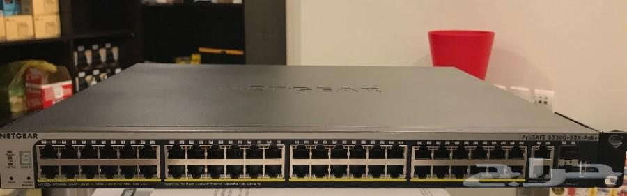 Switch NETGEAR GS752TXP S3300 52 Port POE
