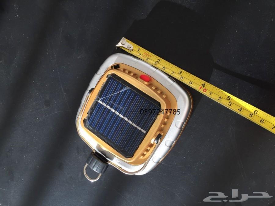 كشاف صغير طاقة شمسية 3 حبات ب50 فقط