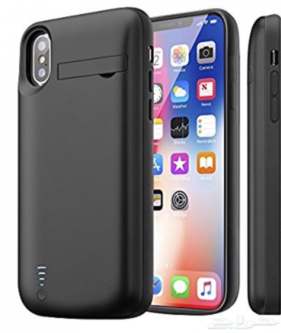 كفر شاحن ايفون 6 7 8  Iphone X Plus