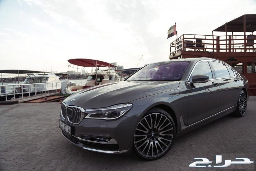 جنوط BMW الفئة السابعة موديل2017