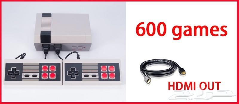 كمبيوتر العاب العايله (بمخرج HD )ب 600 لعبه