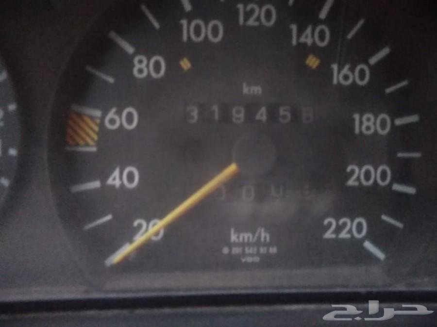 مرسيدس موديل 1991 مقاس E190