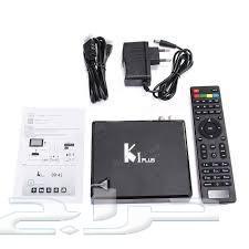 جهاز رسيفر android KI PLUS (تلفزيون ذكي - دش)