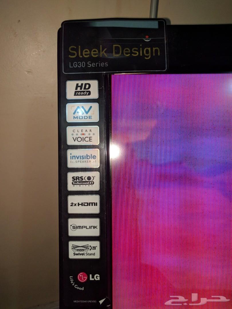 شاشة تحتاج صيانة إل جي LG 42 بوصة