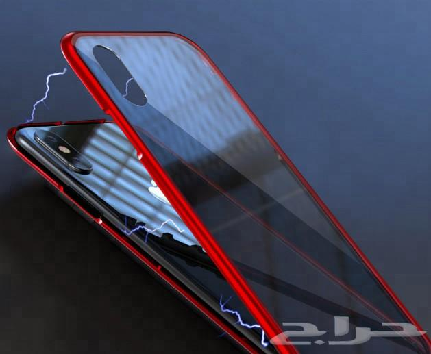 جراب مغناطيسي 360درجة للآيفون 7 و 8 PLUS