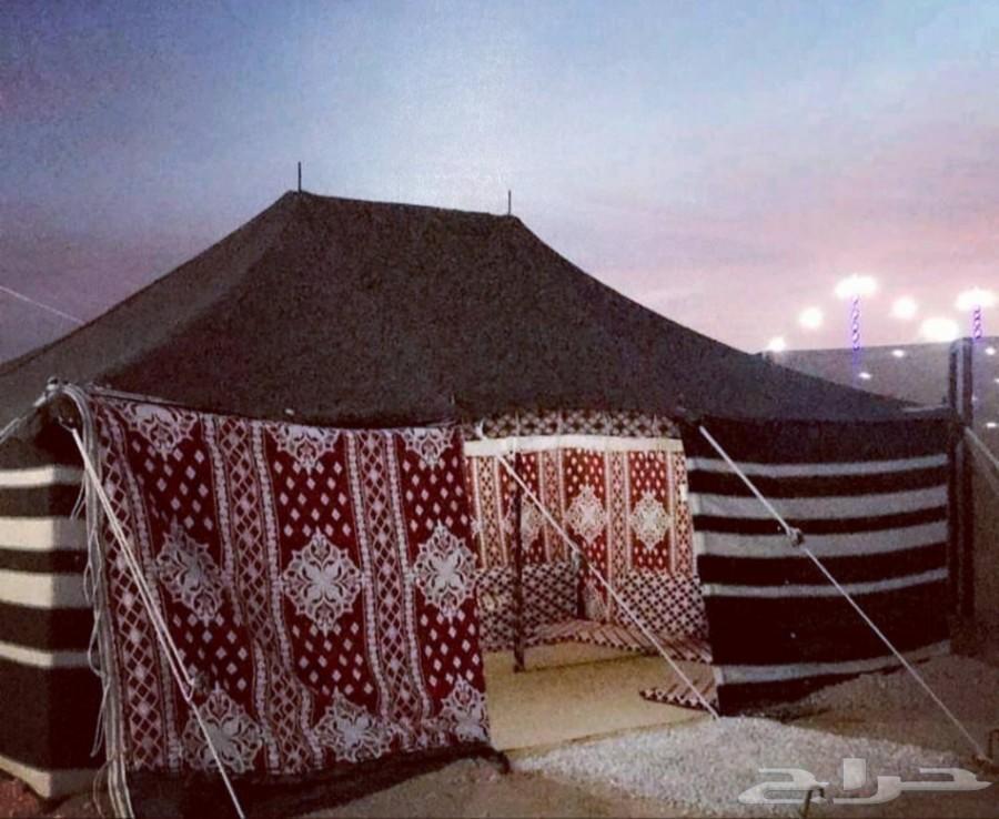 مخيم للبيع قسمين متكامل ...