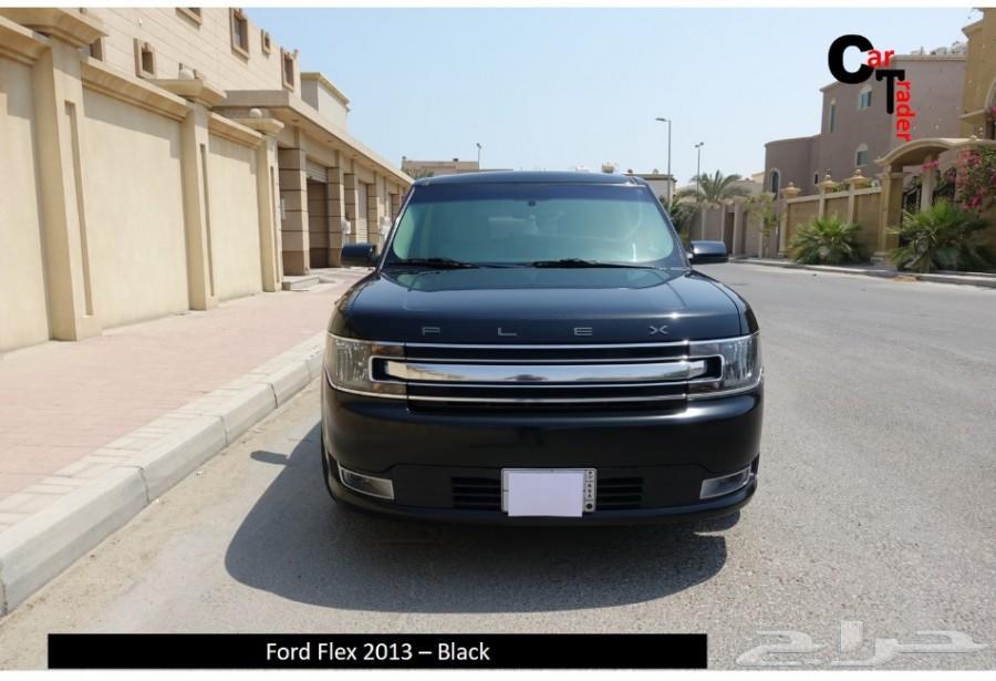 تم البيع -  فورد فلكس أسود وارد الجزيرة 2013