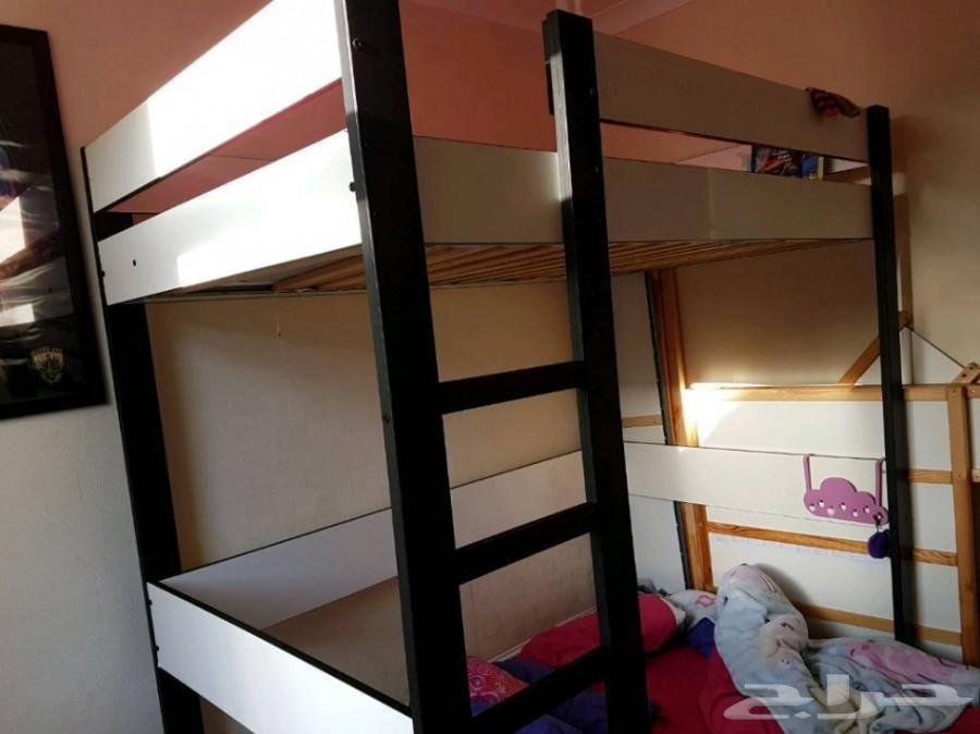 سرير عالي من ايكيا