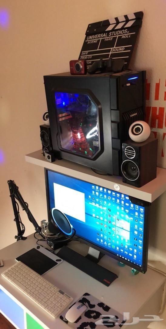 كمبيوتر PC متكامل Gaming ومايك 3500 ريال فقط
