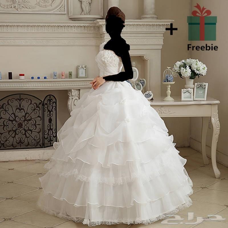 فساتين زفاف تصاميم واسعار ابتداء من 499