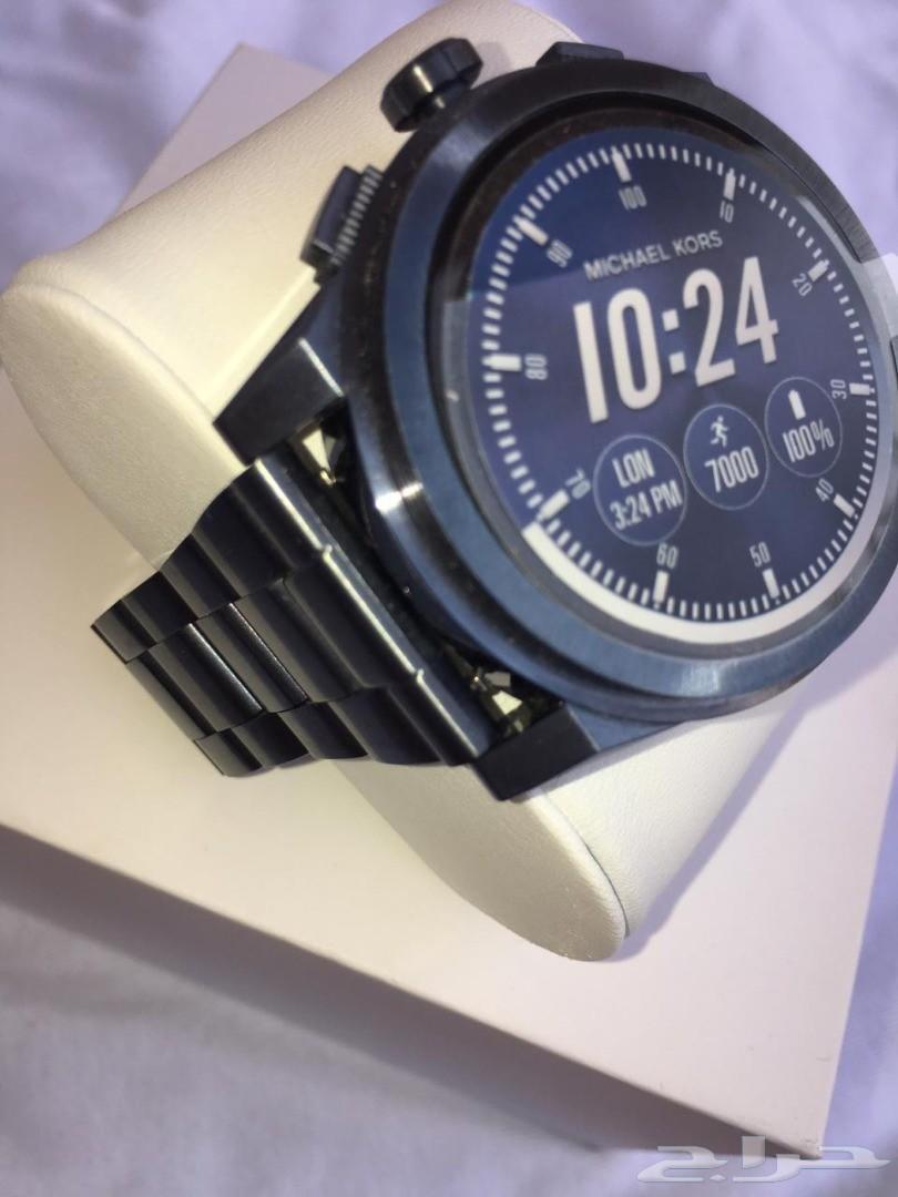 0df093e36 حراج الأجهزة | ساعة يد ذكيه رياضية رجالي ماركة مايكل كورس