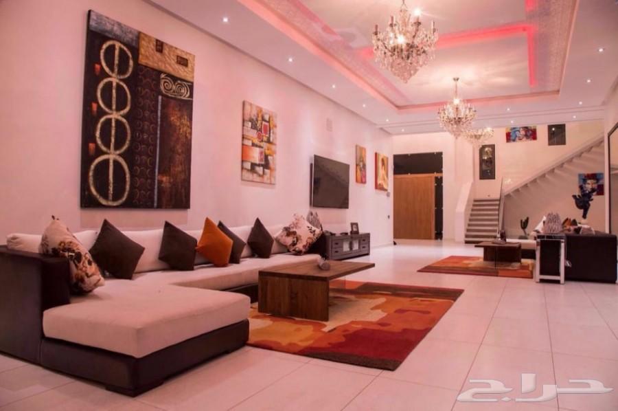 قصر فخم 6 أجنحة عصرية للإيجار بمراكش المغربية