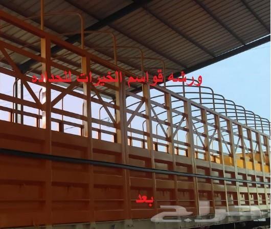 ورشه حداده لتعديل السطحات الموقع صناعيه الخرج