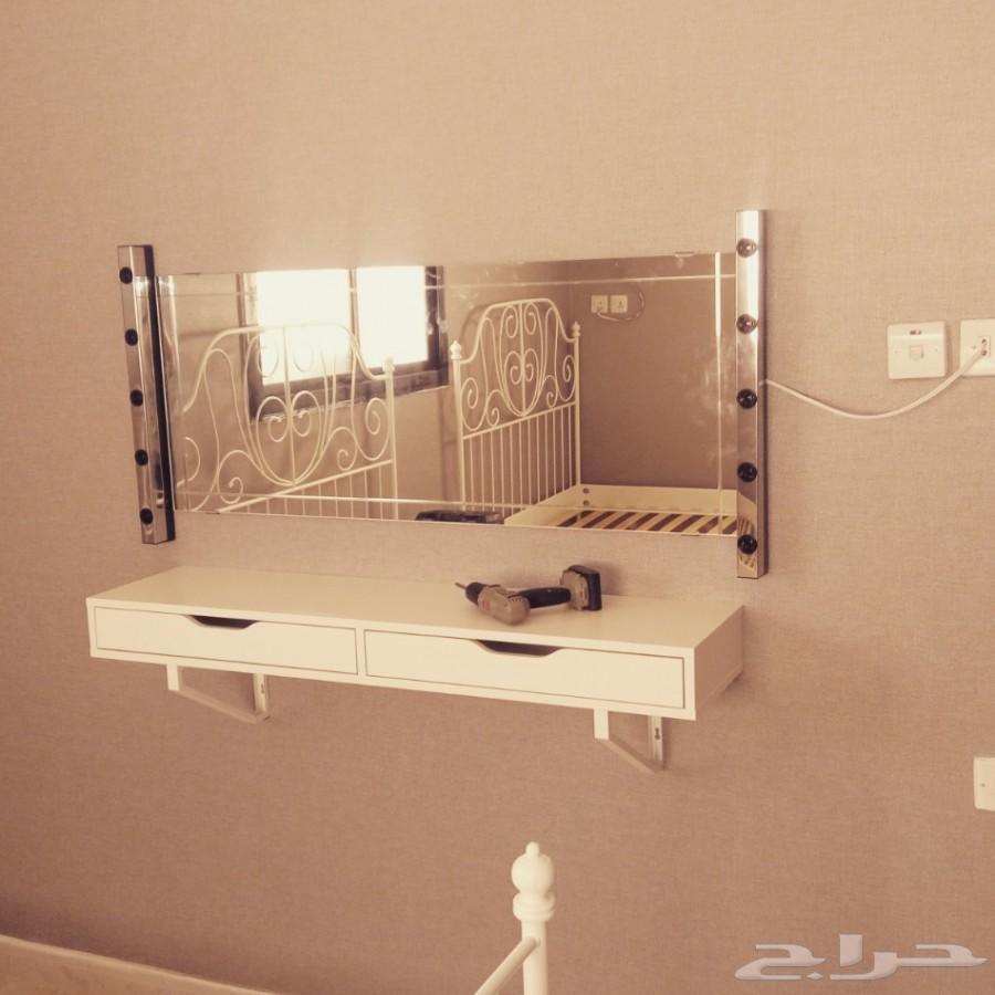 فني نجارة تركيب غرف النوم وايكيا و الستائر