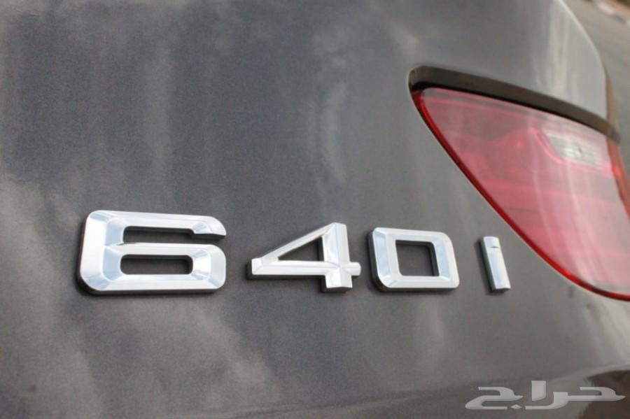 للبيع بي ام دبليو 640
