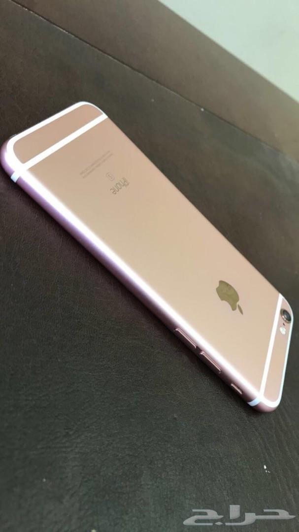 للبيع ايفون 6s وردي نظيف كماهو موضح بالصور