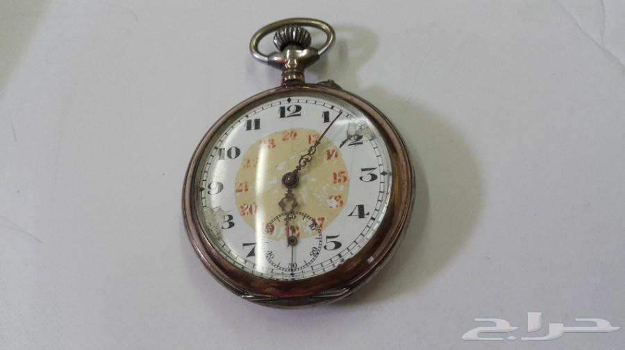 a16df3cec حراج الأجهزة | ساعة جيب فضة سويسرية قديمة مؤرخة