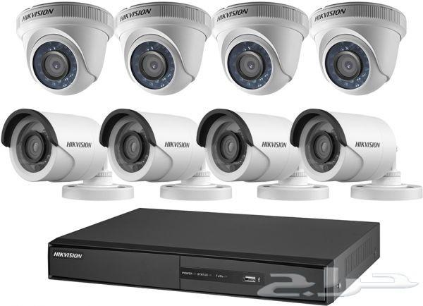 كاميرات مراقبه بسعر1299  بالتركيب