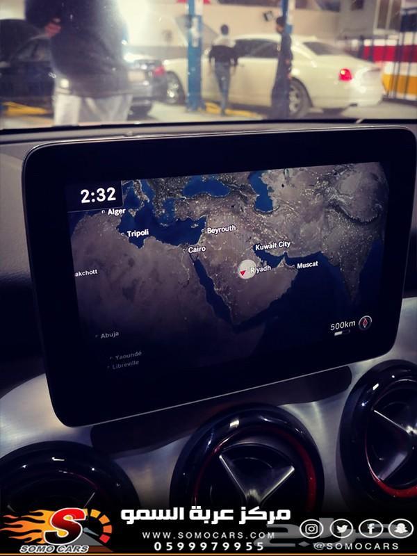 تحديث خرائط مرسيدس 2018 - بالرياض عربة السمو