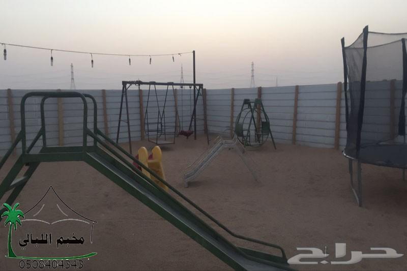 مخيم للايجار شرق الرياض