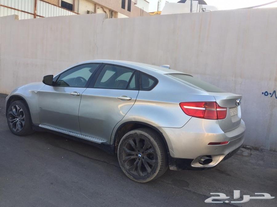 BMW X6 موديل 2008 6 سلندر قطع غيار