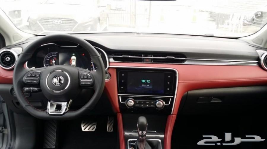 حراج السيارات سيارة Mg الموديل 2019 الفئة ام جي 6 فل كامل