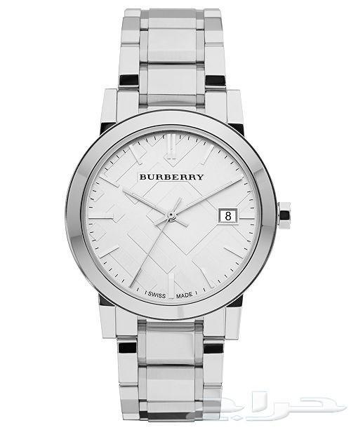 ساعة بربري رجالي Burberry اصلية مستعملة