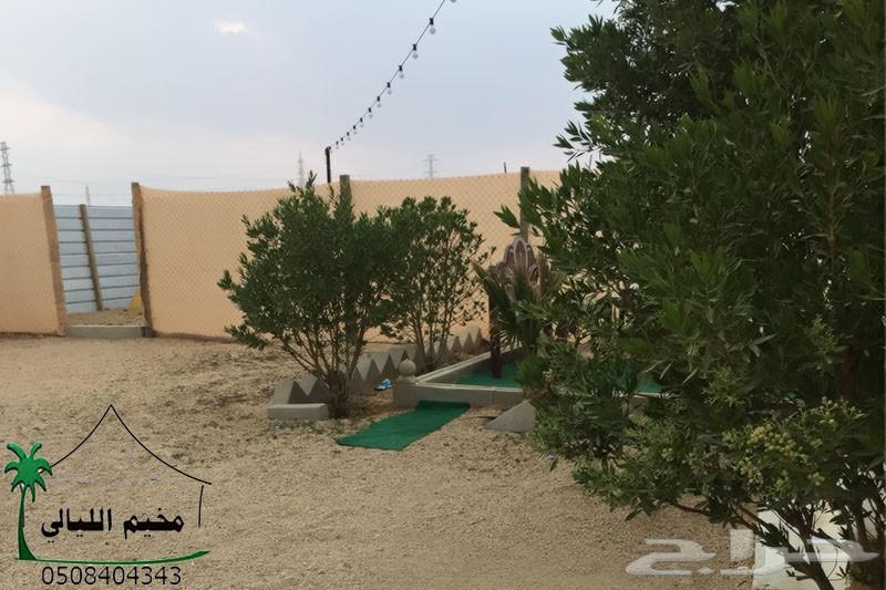 مخيم شرق الرياض للايجار