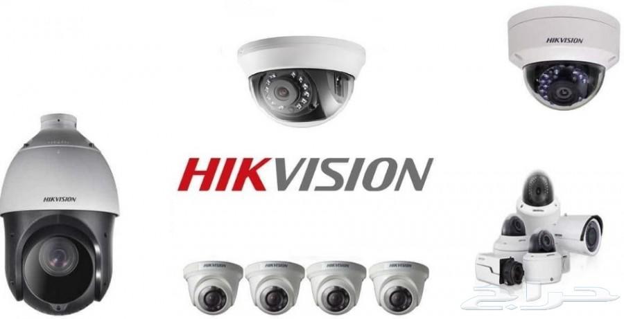 كاميرات المراقبة وقطع وتركيب وتوريد