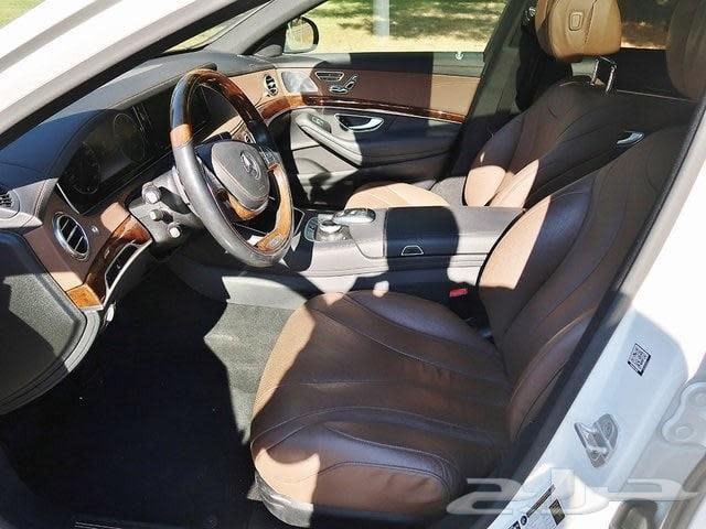 مرسيدس يخت S550 2015 ممشى قليل