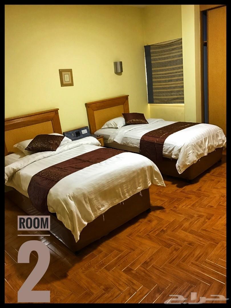 شقة عوائل غرفتين للإيجار  حي السلام بالدمام