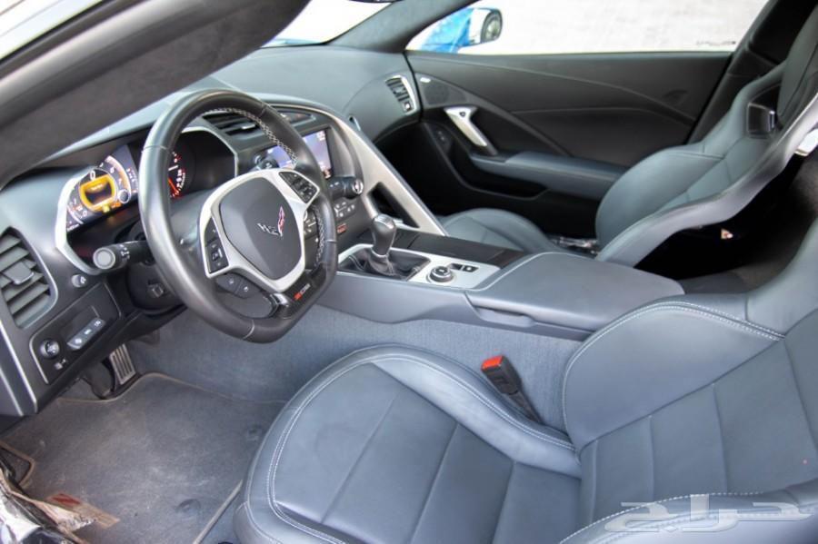 كورفيت ZO6 3LT لون بيبسي قير عادي