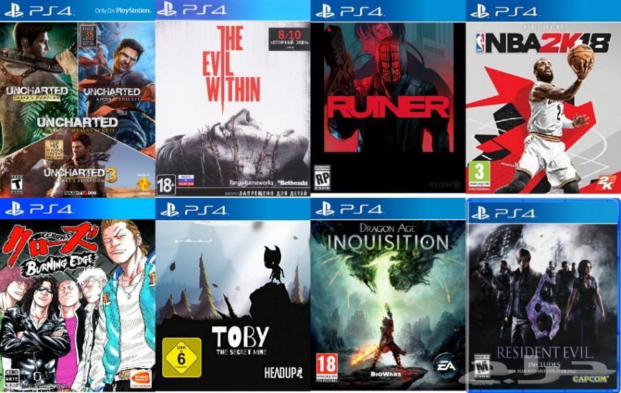 العاب سوني 4 مهكر (تعبئة هاردسك) تهكير PS4