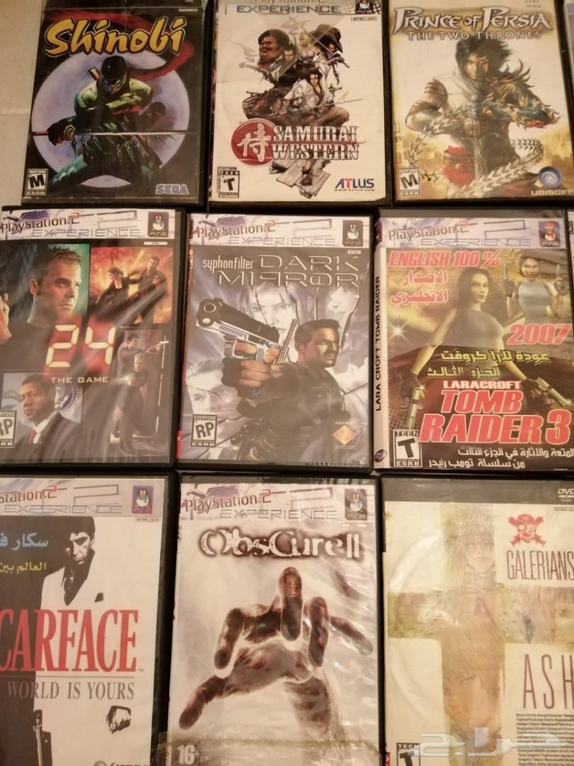 العاب PS2 للببع