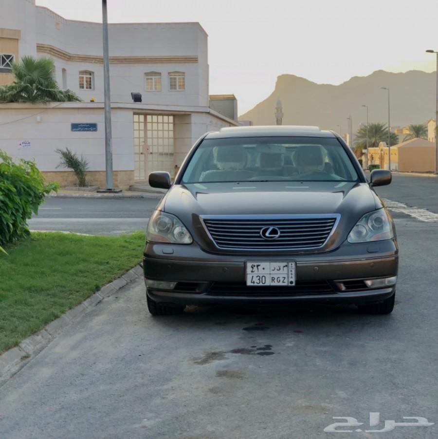 للبيع لكزس 2004 Ls سعودي بودي وكاله