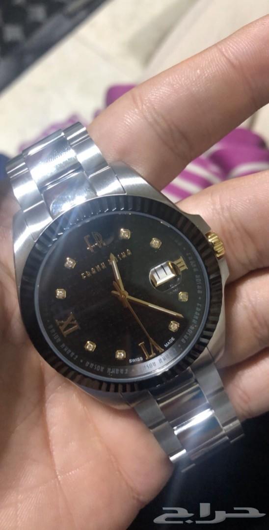 af27f740f حراج الأجهزة | ساعة FRANK ROSHA اصلية رجالي