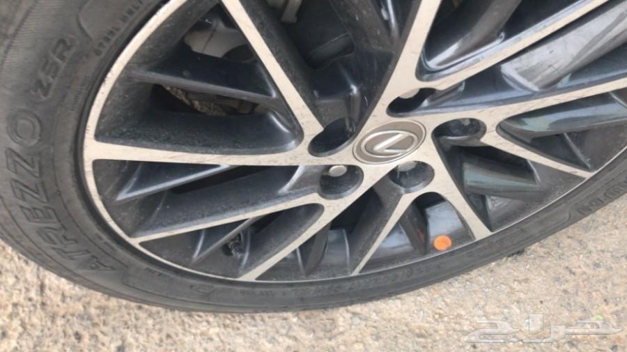 جنط لكزس 2017 Es 350 مكحل اصلي