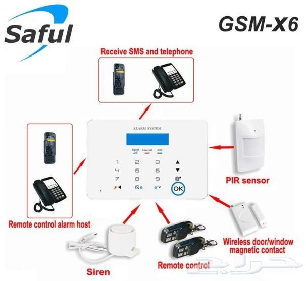 جهاز انذار  ضد السرقة Security Alarm