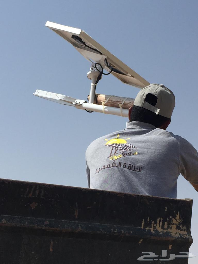 منظومات طاقة شمسية للمخيمات والكرفانات