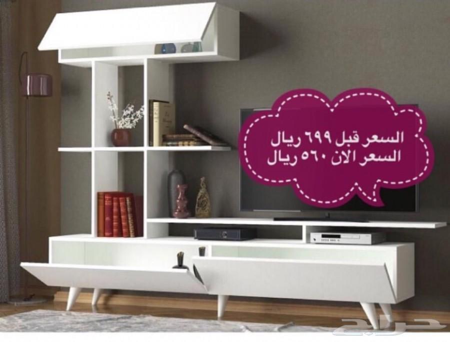 مكتبات تلفزيون طاولات بلازما