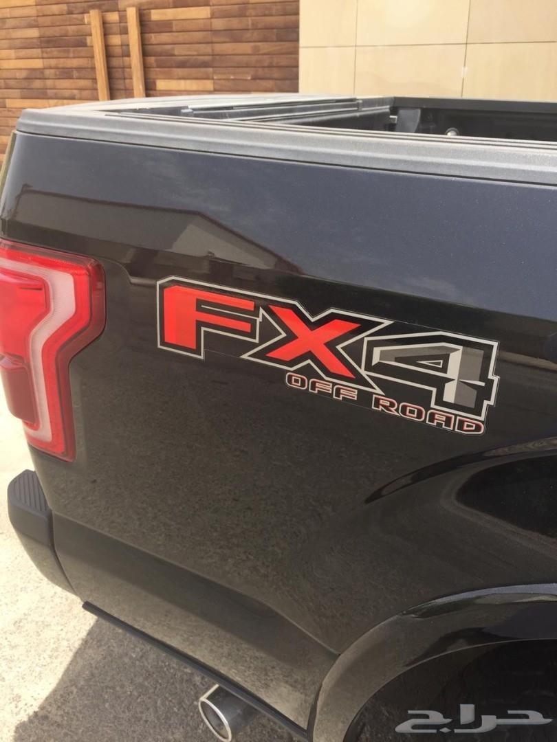 فورد F150 بلاتينيوم أسود 2015