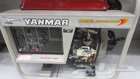 مولد كهرباء يانمار 2700 واط ديزل ياباني