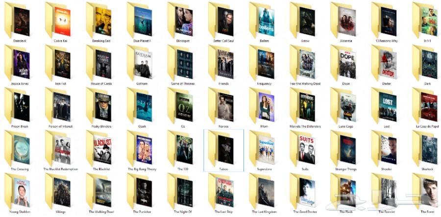 14 تيرا مسلسلات و8 تيرا افلام للبيع في هاردسك