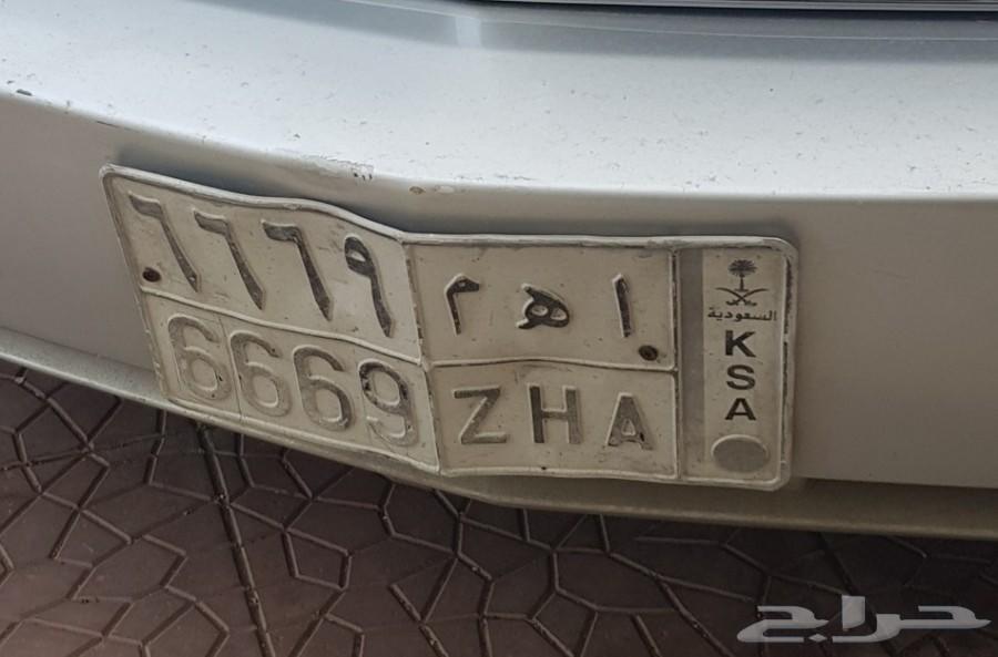 لوحة سيارة مميزة  اهم 6669
