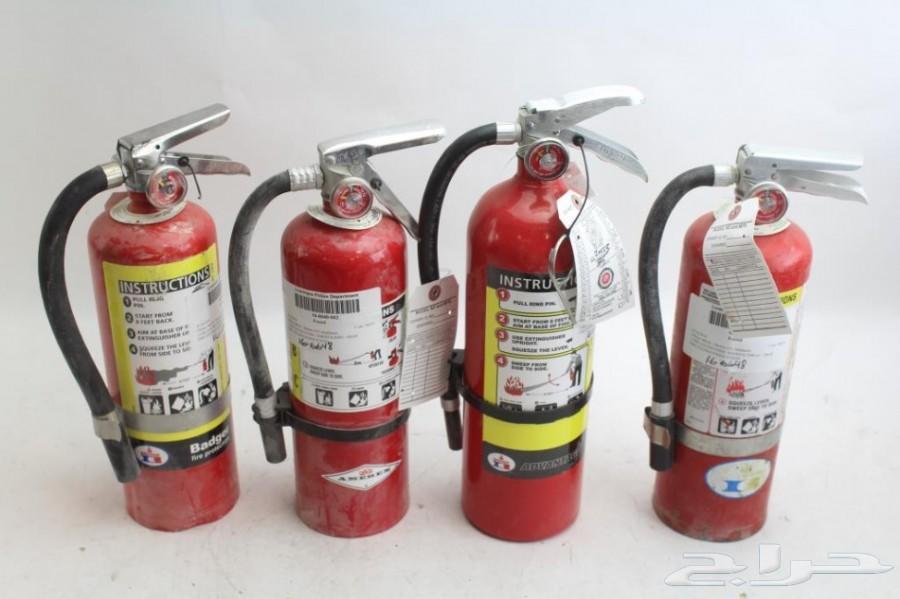انظمة مكافحة حريق ووسائل السلامه