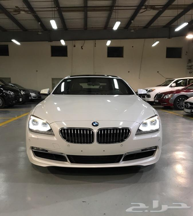 BMW 640i على الضمان