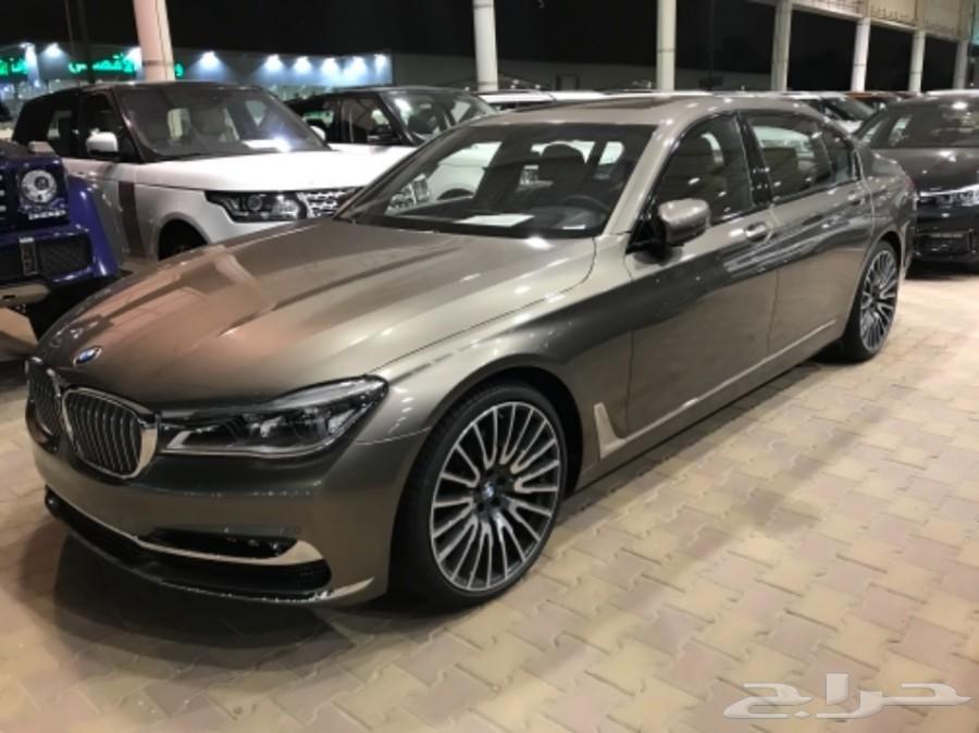 BMW 740 2018